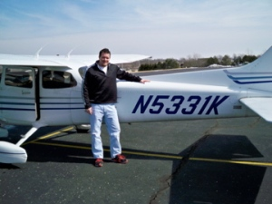 My first flight!