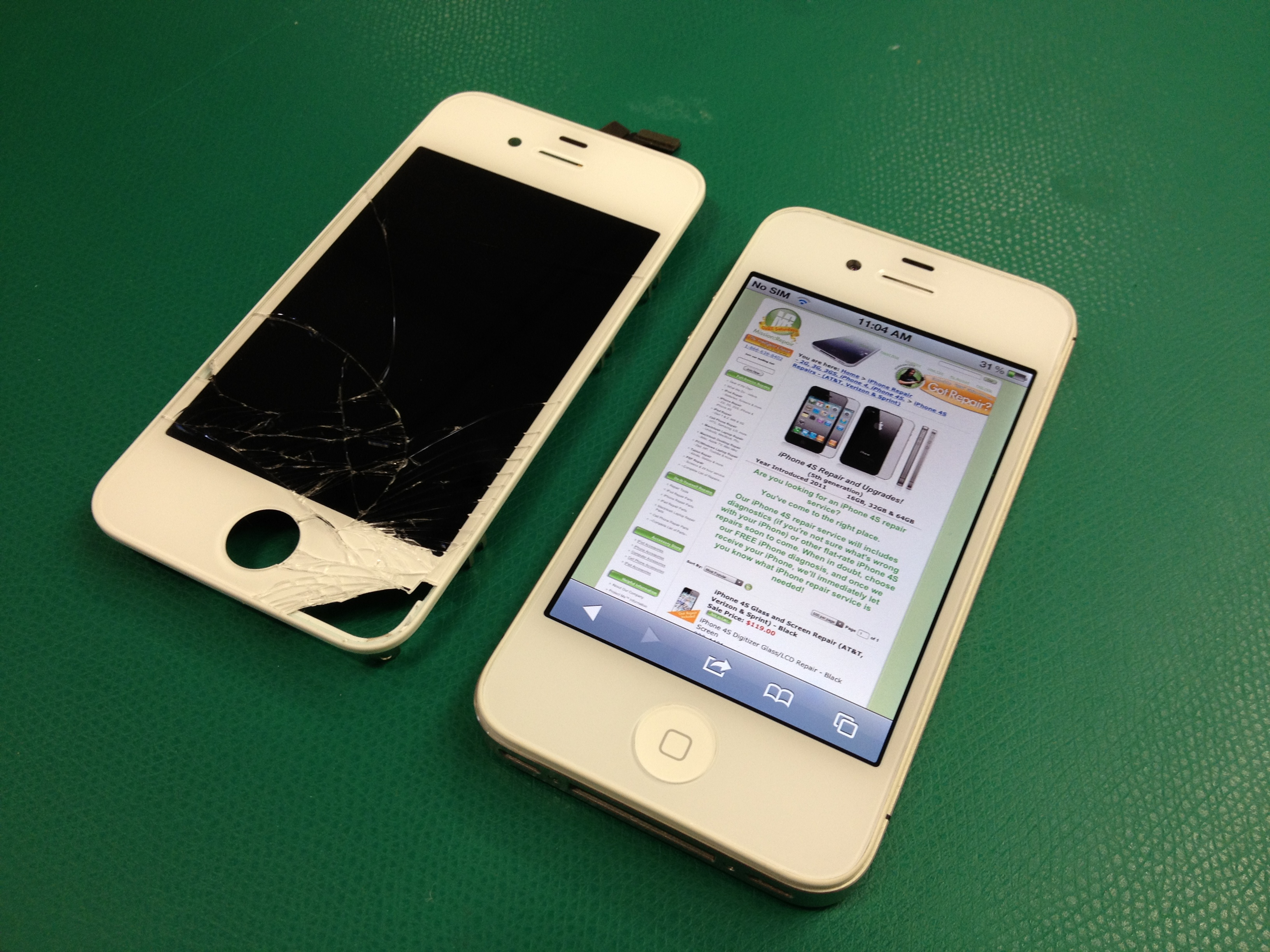 iphone 4s repair iphone 4s glass repairs are they really breaking already 1394