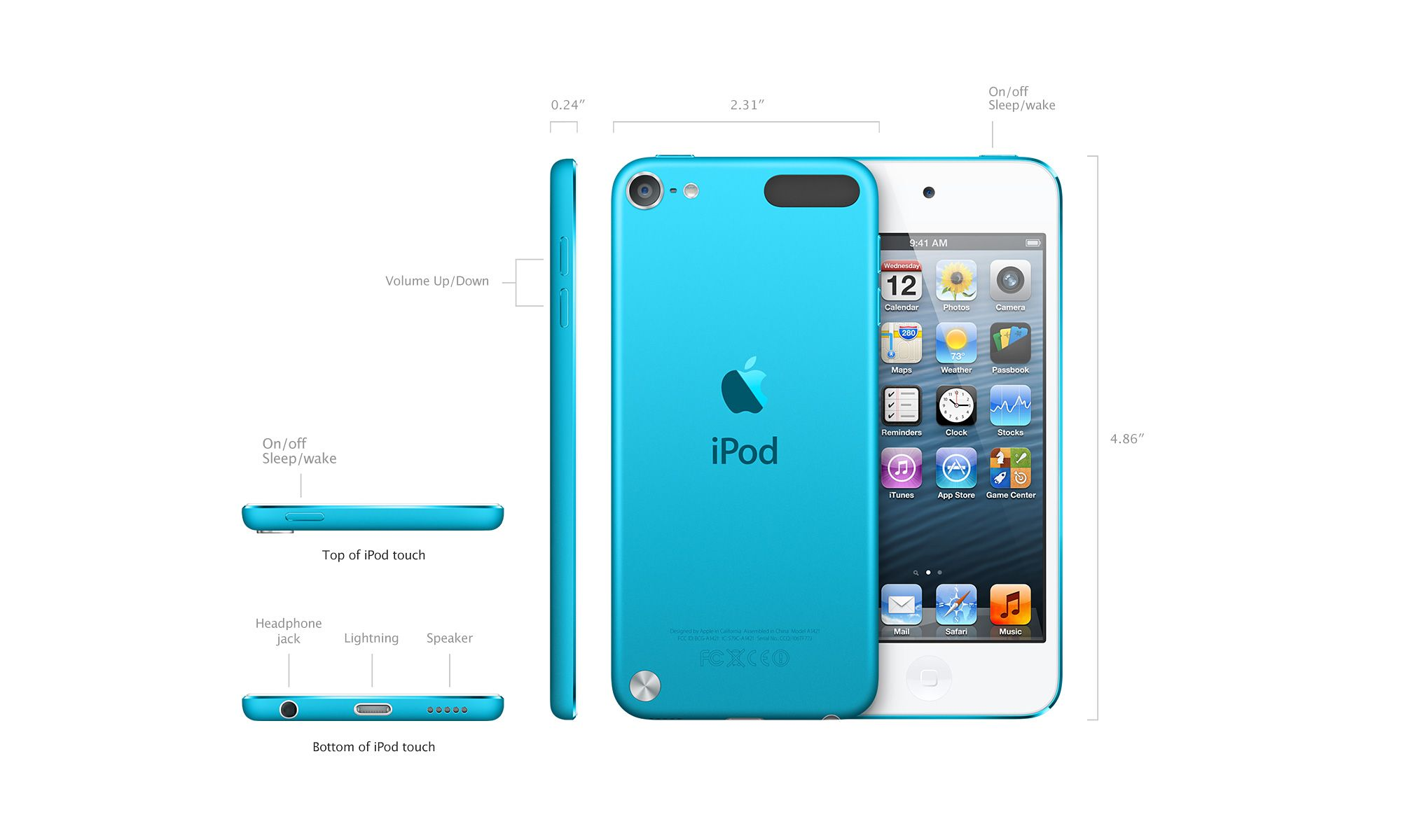New Apple Stuff Mission Repair Specials And Gadget Info Ipod Touch 6 16gb Blue Iphone