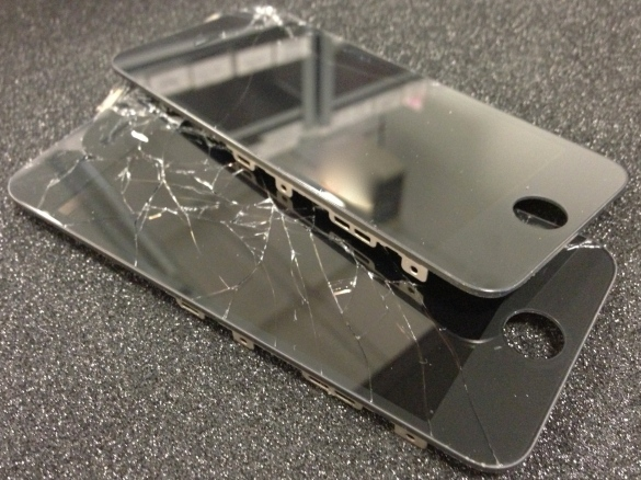 Broken iPhone 5 Screens