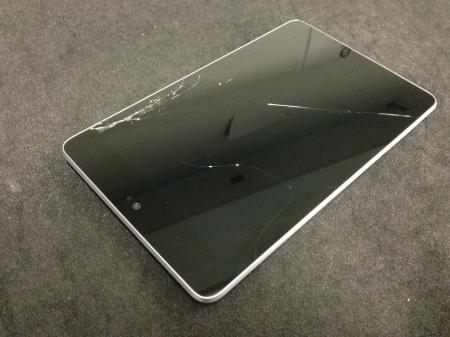 Cracked Google Nexus 7, Broken Asus Nexus 7