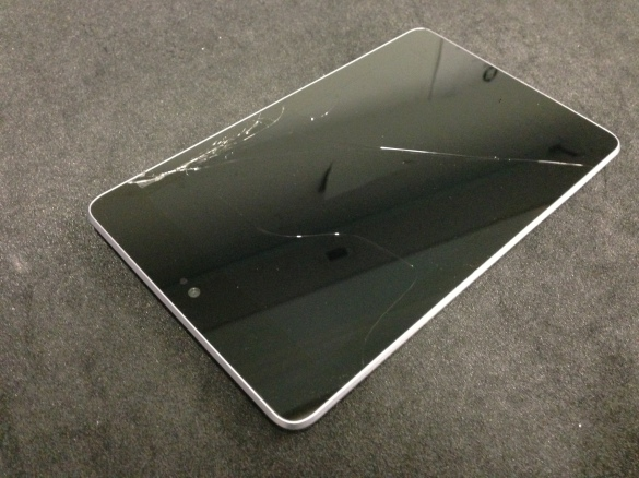 Cracked Google Nexus 7, Broken Asus Nexus 7