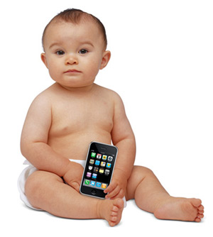 You'd better baby that iPhone!