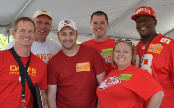 Chiefs GM John Dorsey, Mitch Holthus and the Mission Repair gang!