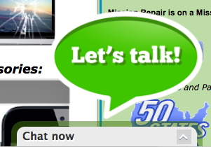 Chat us up now!  As of 8:55pm today we are still available!