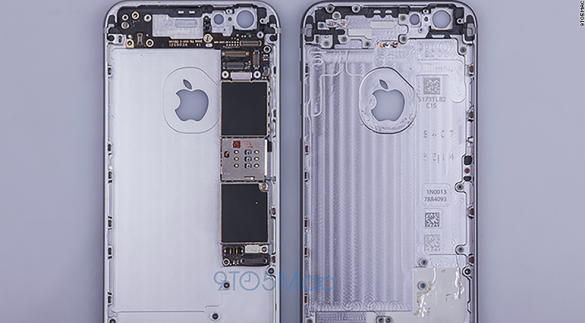 Leaked images of the new iPhone don't look too different from the current iPhone 6 at first glance, according to photos obtained by 9to5Mac.