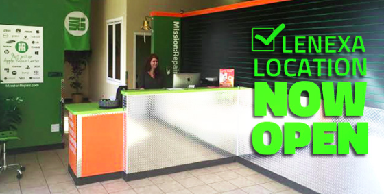 Don't forget that we're now open in Lenexa, Kansas.  I'm impressed that you waited!